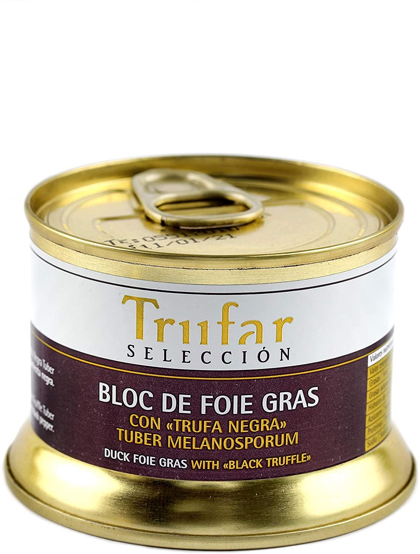 Bloc de Foie Gras de Pato con Trufa Negra Tuber Melanosporum de Teruel